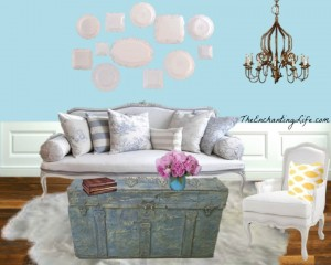 Shabby Chic Living Room - The Enchanting Life