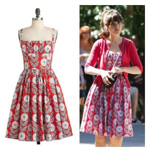 Zooey Deschanel Dahlia Dress