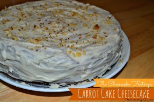 cheesecake carrot cake cheesecake
