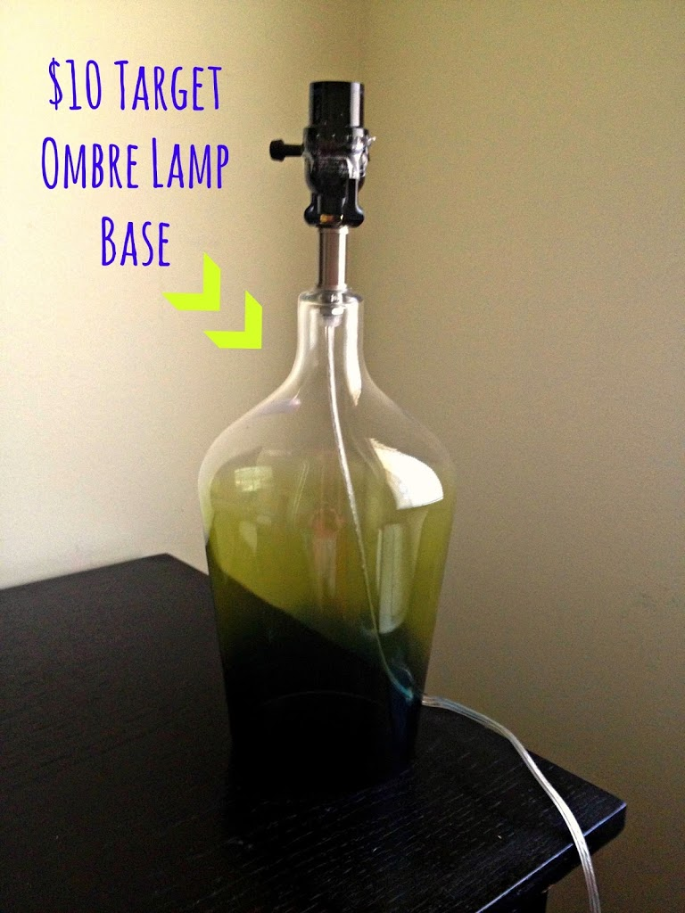 Ombre Lamp Base Amp A Diy Ombre Lamp Shade The Enchanting Life