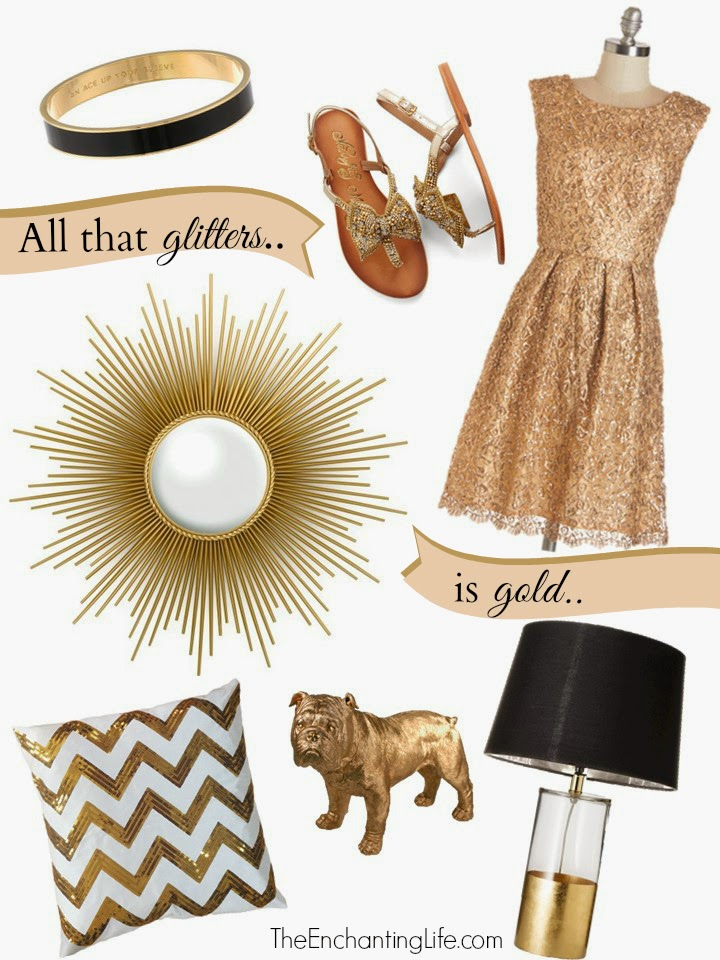 Gold Inspiration: All That Glitters is Gold
