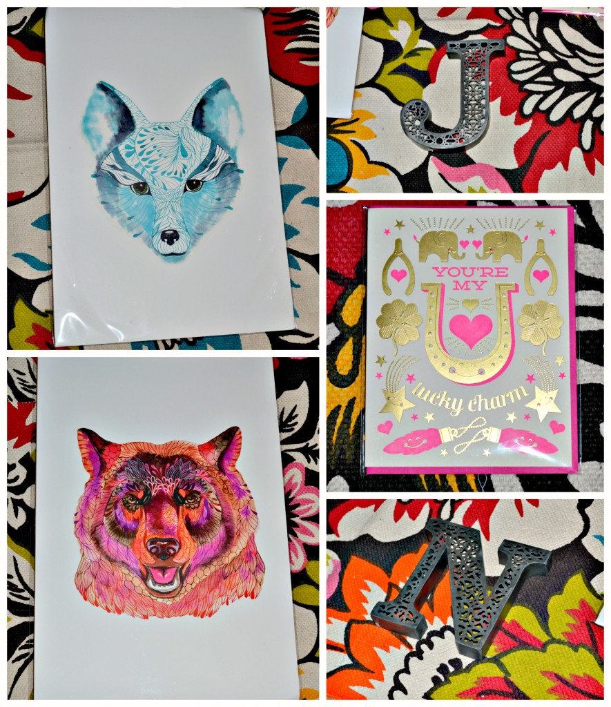 Urban Outfitters fox and bear print