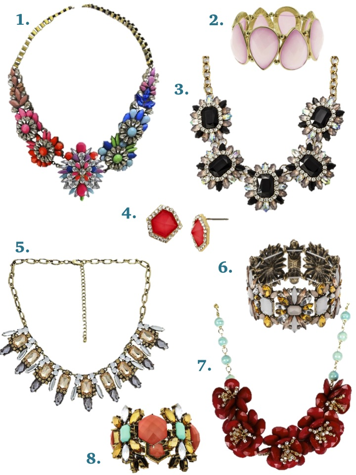 Target's beautiful new Statement Jewelry all under $30 plus a sale now!