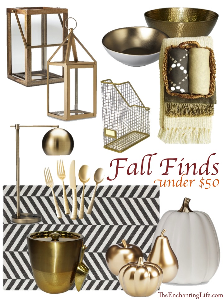 Threshold's Fall Collection: Fall Favorite Finds under $50 at Target now!