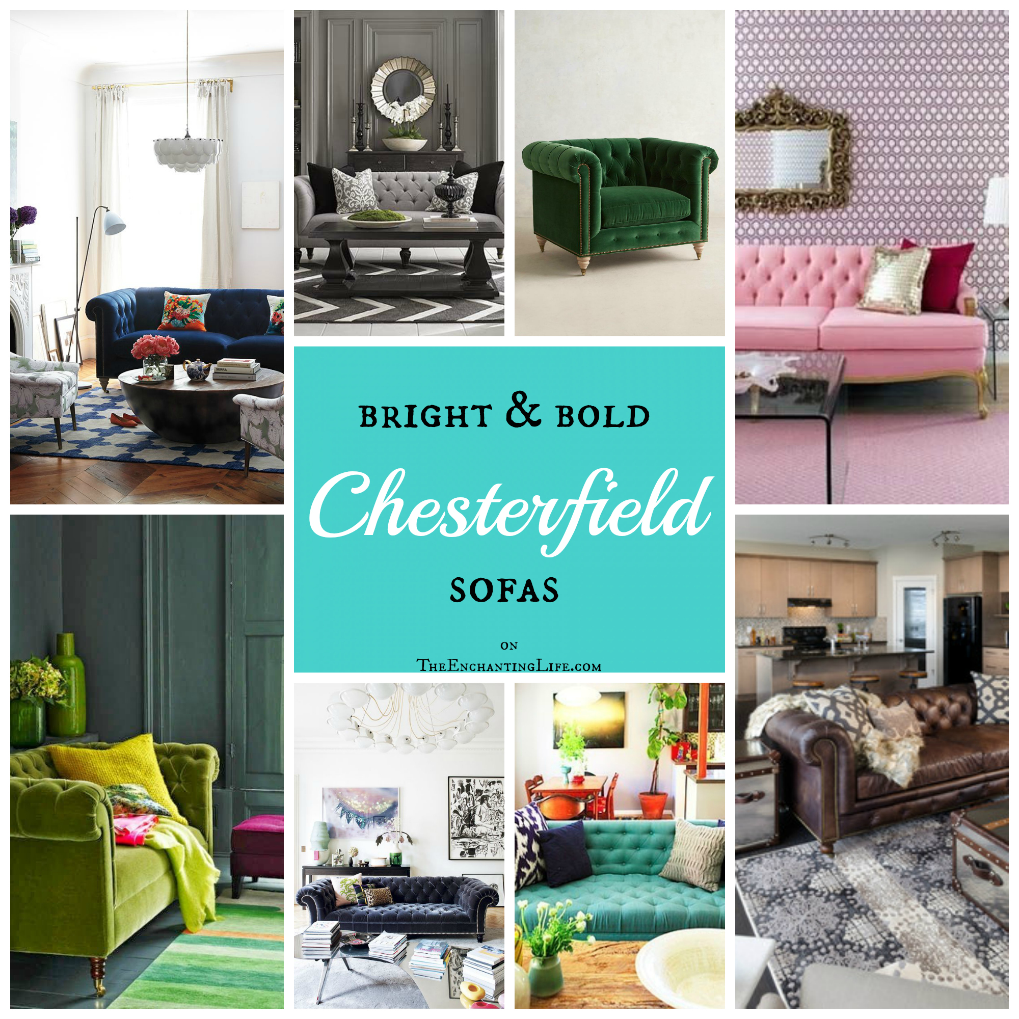 Current Obsession: the Chesterfield Sofa