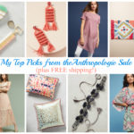 My Best Buys from Anthropologie Sale (plus FREE shipping!)
