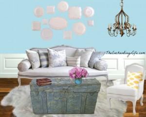 Shabby Chic Living Room - The Enchanting Life