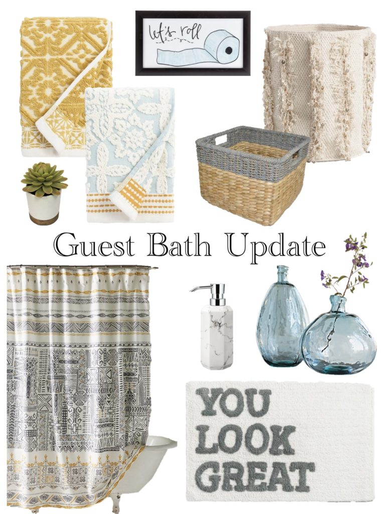 Guest Bath Update - The Enchanting Life   The Enchanting Life